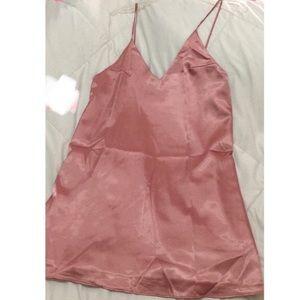 Dresses & Skirts - Satin slip style minidress
